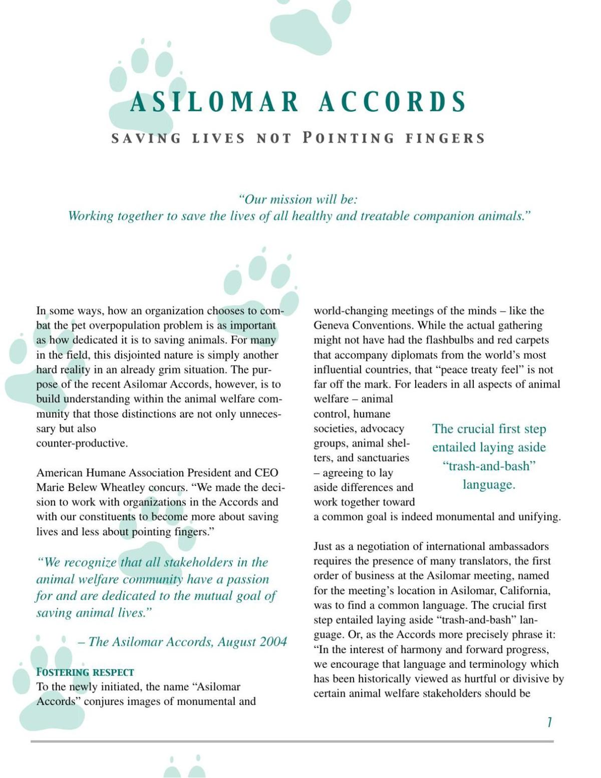 Asilomar Accords
