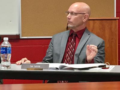 Superintendent Tim Tarvin