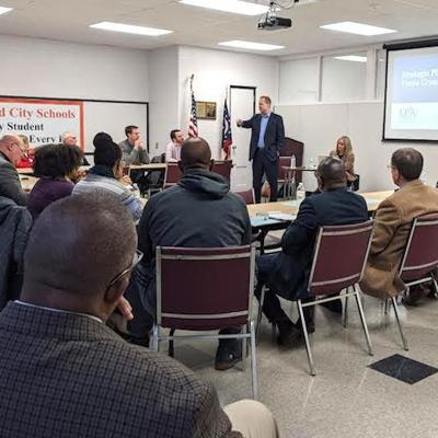 Focus groups offer input to Mansfield City Schools' five-year Strategic Plan