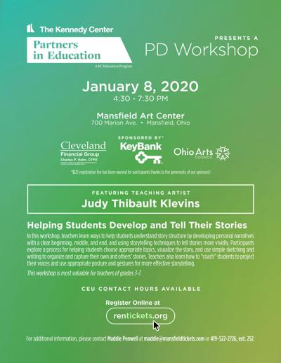 Free professional development workshop available for teachers on Jan. 8 in Mansfield