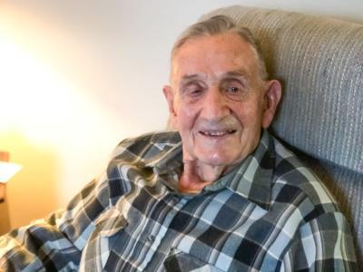 Madison Township man full of glee at 93