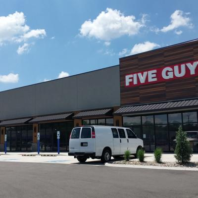 Five Guys and Pulp Juice and Smoothie Bar to open in August