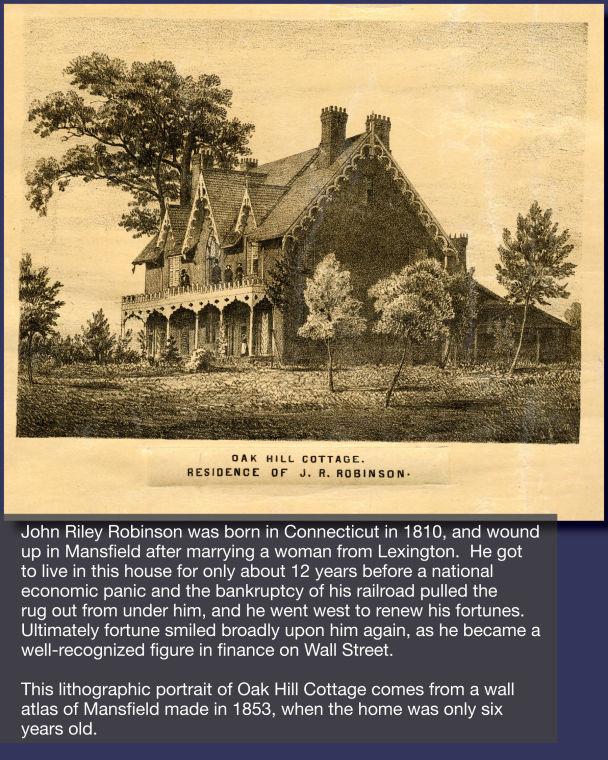 Residence of J.R. Robinson