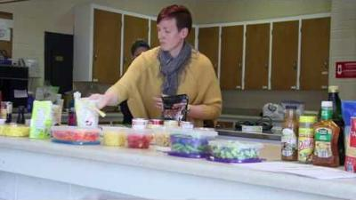 Locals learn ways to eat healthy