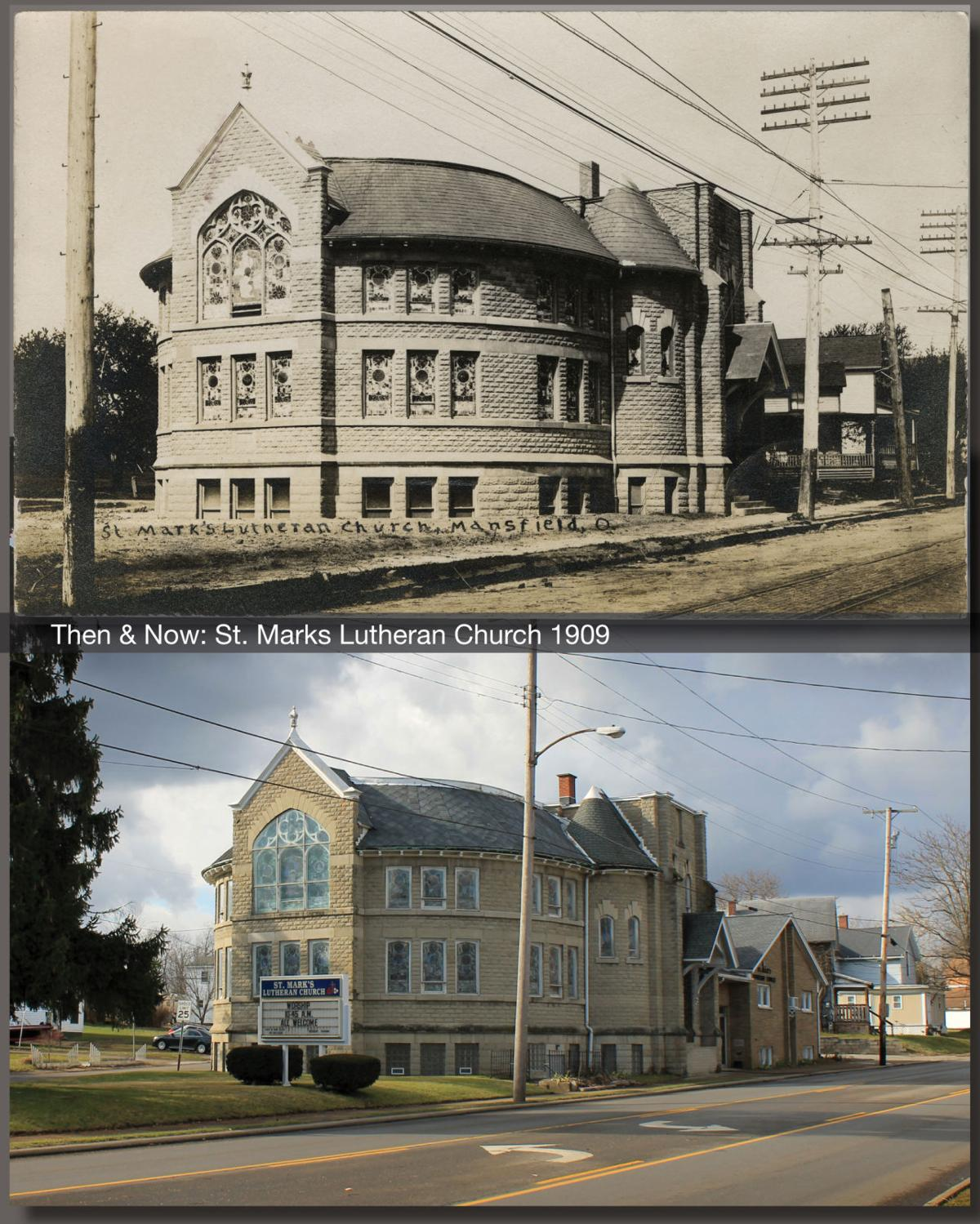 Then & Now: St. Mark's Lutheran Church in 1909