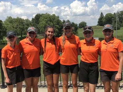Ashland 2019 girls golf team photo