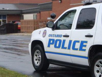 Ontario Police vehicle