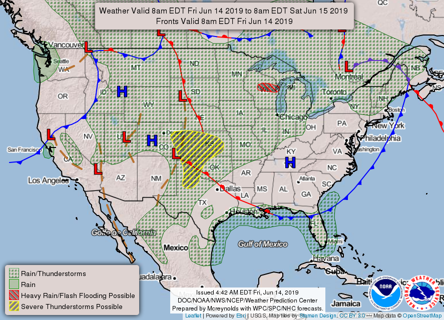 Friday's blue skies will give way to heavy rains, potential flooding this weekend