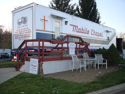 Church on wheels: local Rev. oversees truck stop chaplains