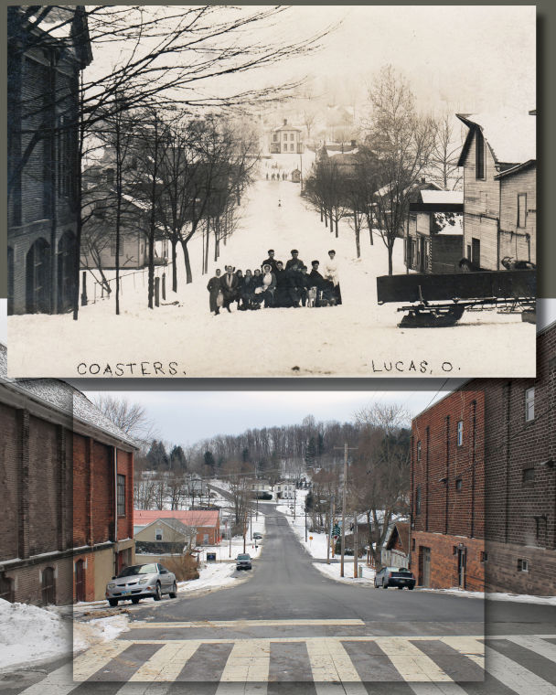 Then and Now: Lucas in winter 1907