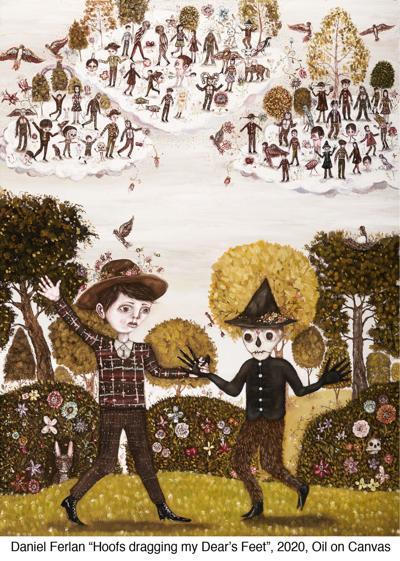Daniel Ferlan's artwork