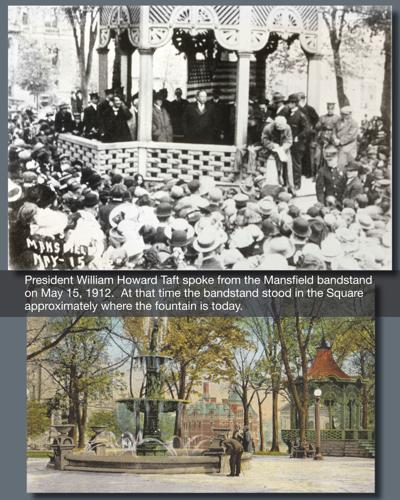 President Taft on the Square in 1912