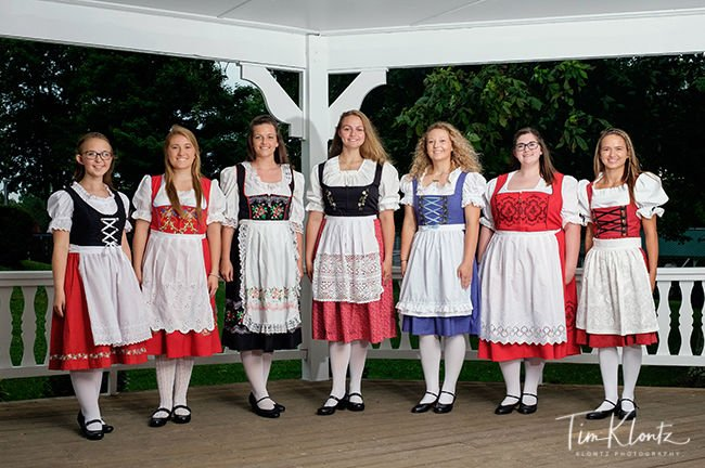 2019 Bratwurst Festival Queen candidates