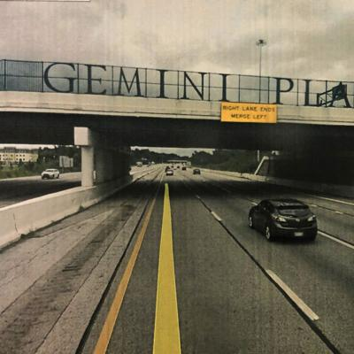'MANSFIELD' signs over bridges part of U.S. 30 project