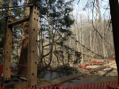 New bridge will connect 2 hiking trails at Mohican State Park