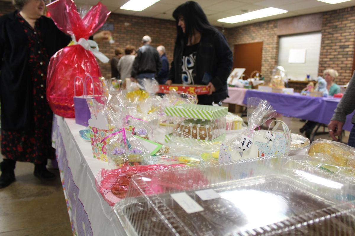 Easter food at St. Peter's