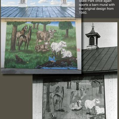 Malabar barn mural has a history of its own