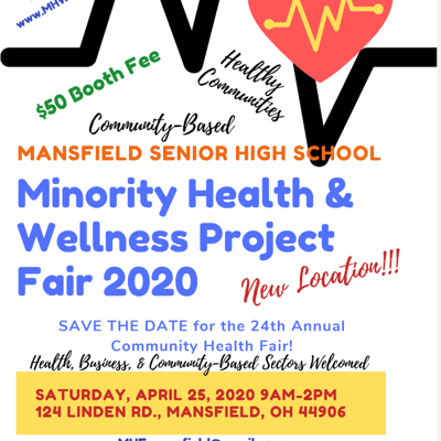 Registration is open for April 25 for Minority Health Fair