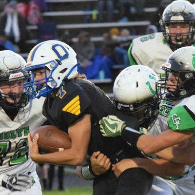 Ontario overcomes slow start to roll past Clear Fork on Senior Night