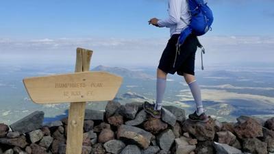 Edging closer: Arizona is #44 on Ashland climber's highpoint checklist