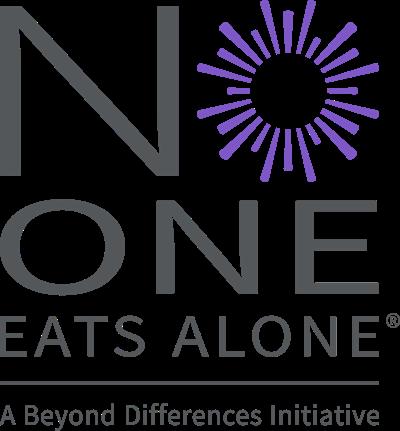 No one eats alone logo