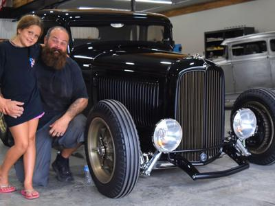 Steadfast founder continues to create automotive artwork in Bellville