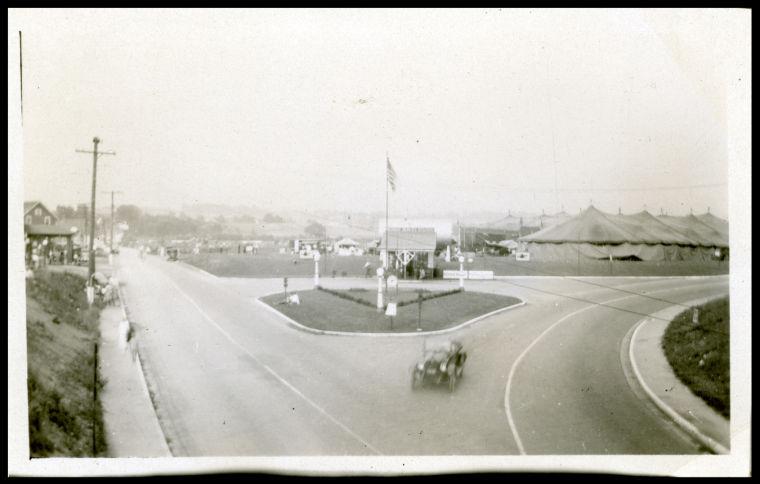 Snapshot of Park Avenue East in 1924