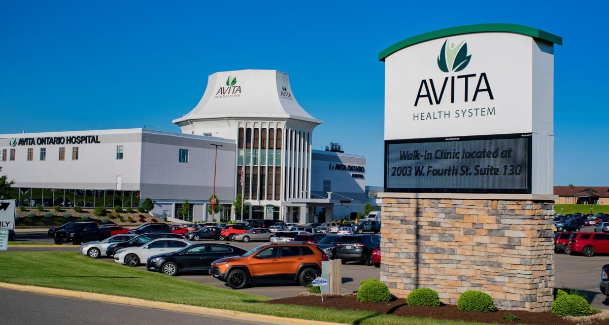 Avita sign and building