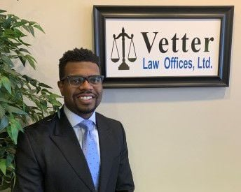 Attorney Marcus Phelps returns home and joins Vetter Law Offices