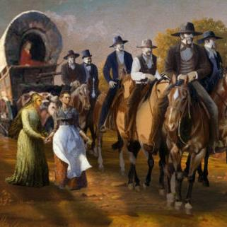 The Mormon march through Mansfield in 1838 marked a miracle