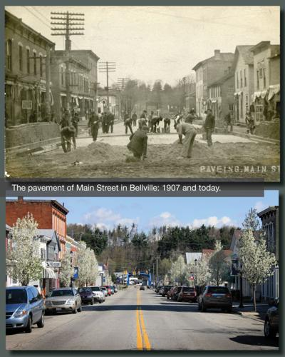 Main St.,Then and Now