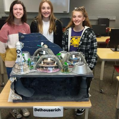 Crestview students take 3rd in statewide competition