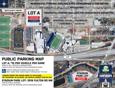 parking map canton