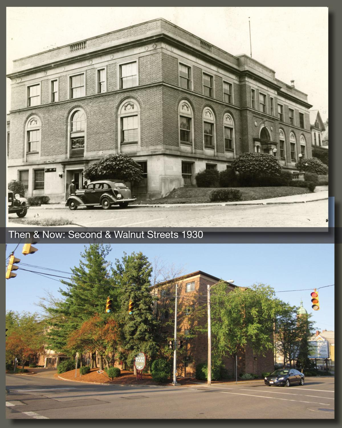 Then & Now: Second & Walnut
