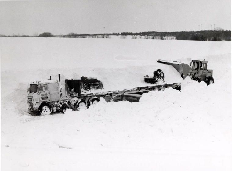 Local Residents And News Record The Great Blizzard Of 1978 Life