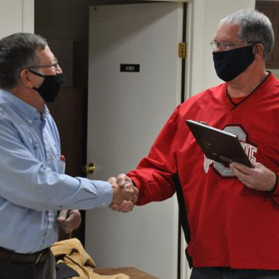 Fredericktown honors Ruhl with 'Key to the Village'