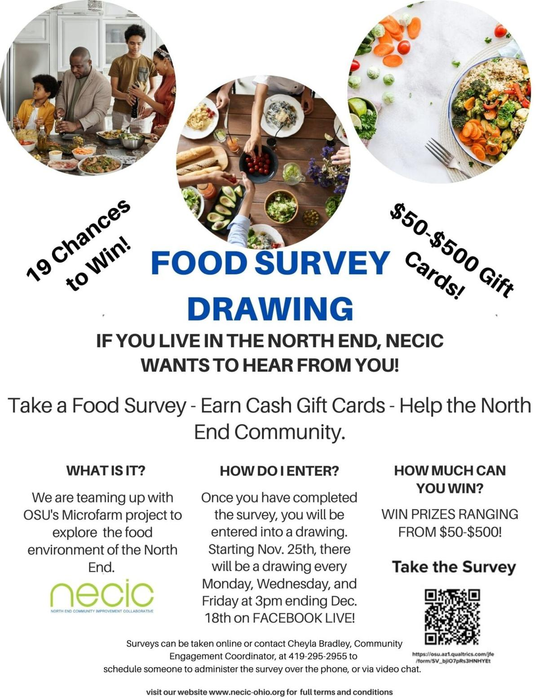 NECIC food drawing
