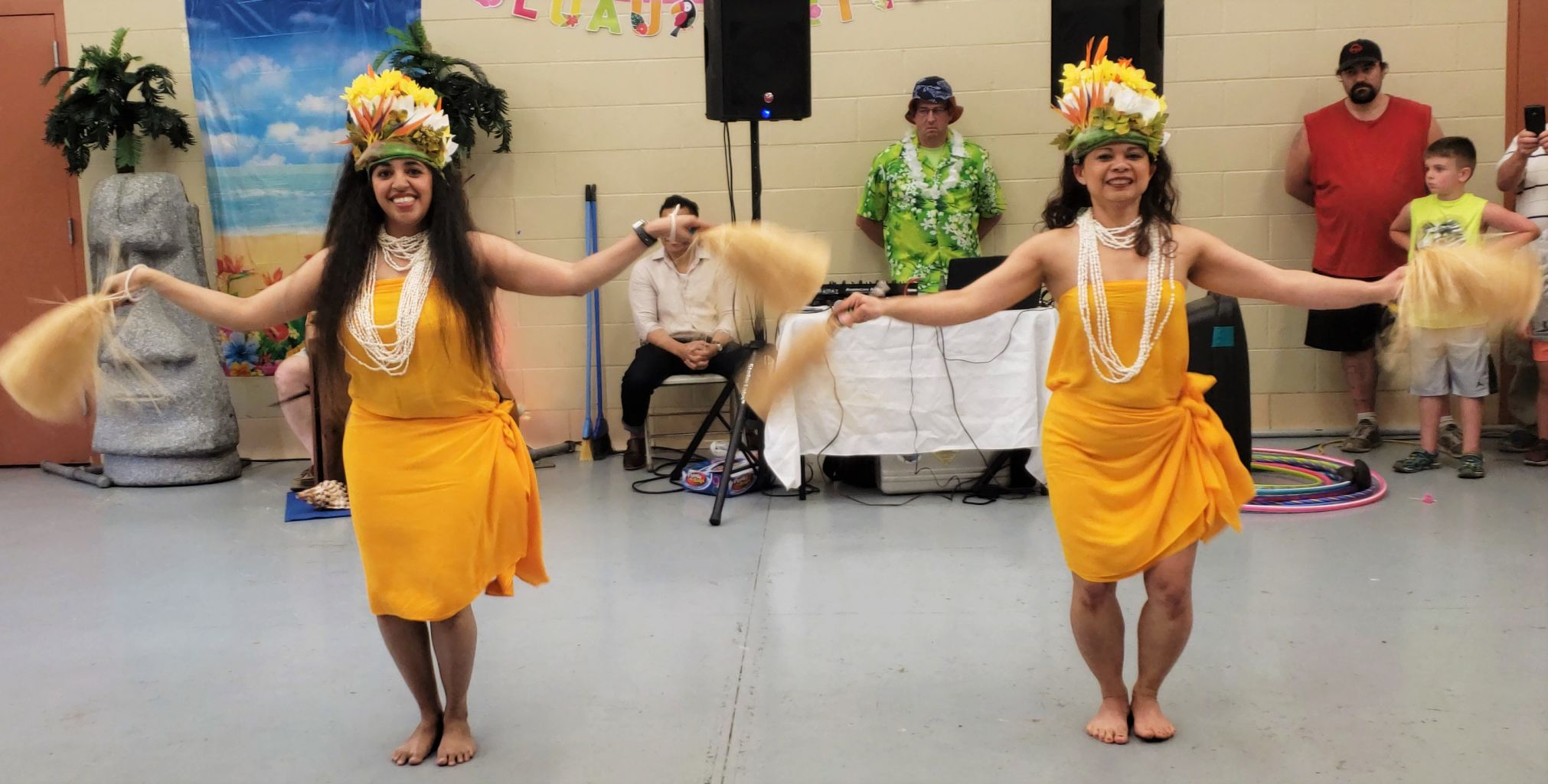 GALLERY: Mansfield Parks & Recreation hosts 'Luau Party' at North Lake Park