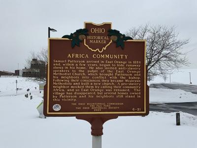 Ohio historic community of Africa