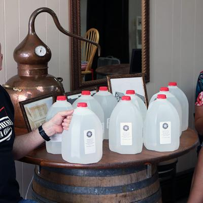 Galion City Schools partners with Iron Vault Distillery for hand sanitizer