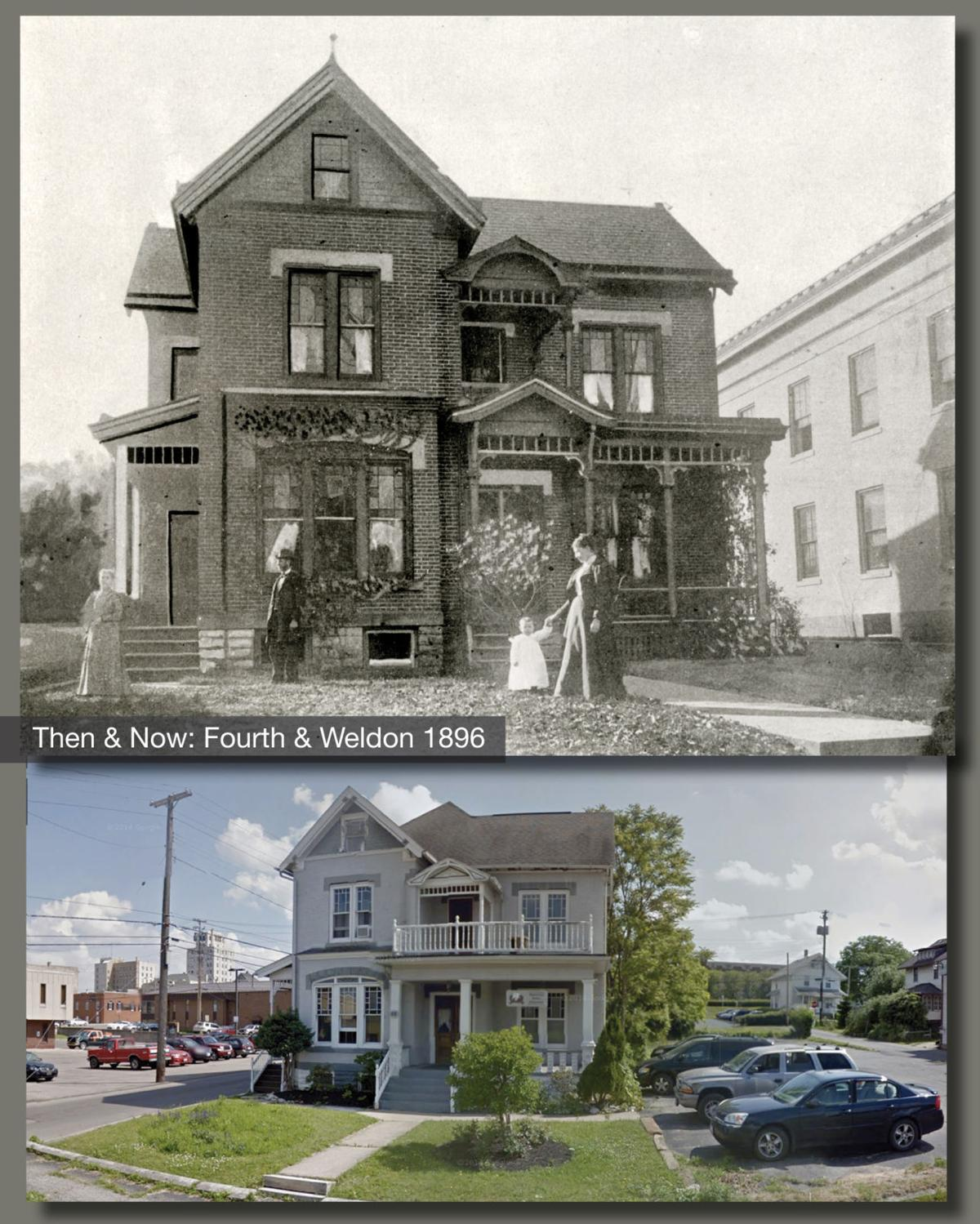 Then & Now: Fourth and Weldon 1896