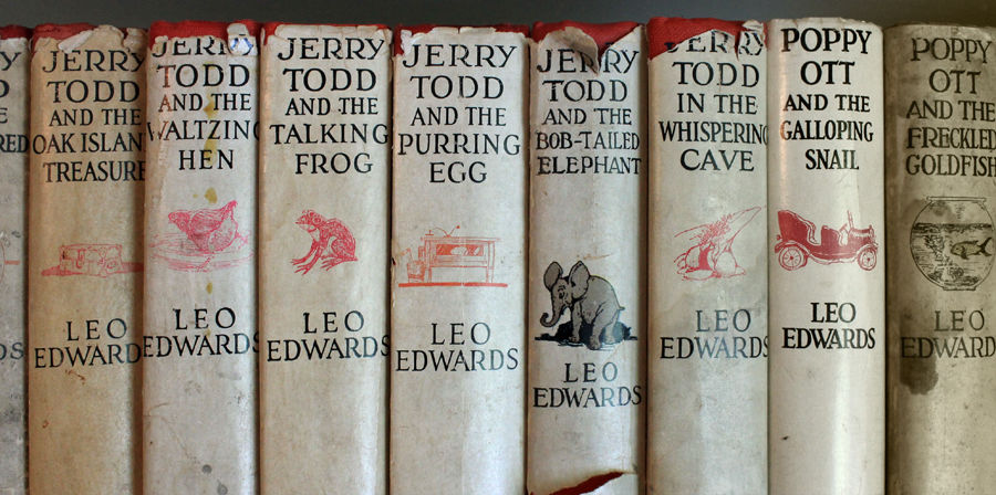 Jerry Todd and Poppy Ott books