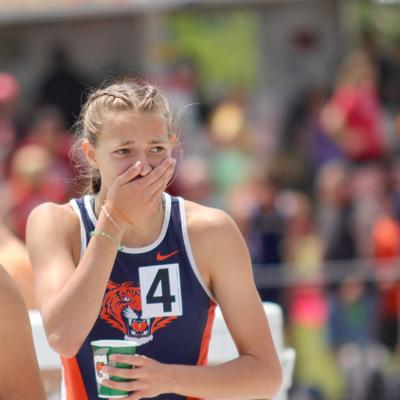Jumping for Joy: Galion's Myers wins state title in hurdles