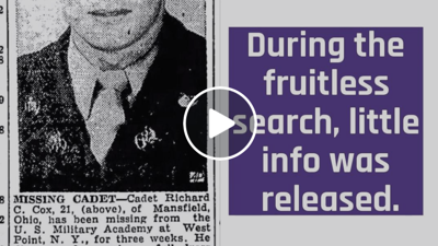 The Day Richard Cox Went Missing