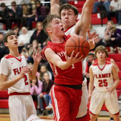Strong second half sends Plymouth past Mansfield Christian