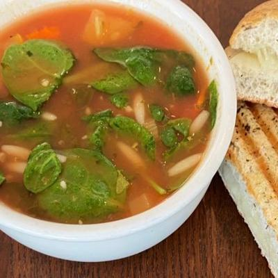 Tuscan Ribollita Soup makes a hearty, healthy meal