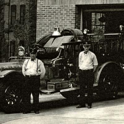 Then & Now: Mansfield Fire Department: Station No. 2 in 1940
