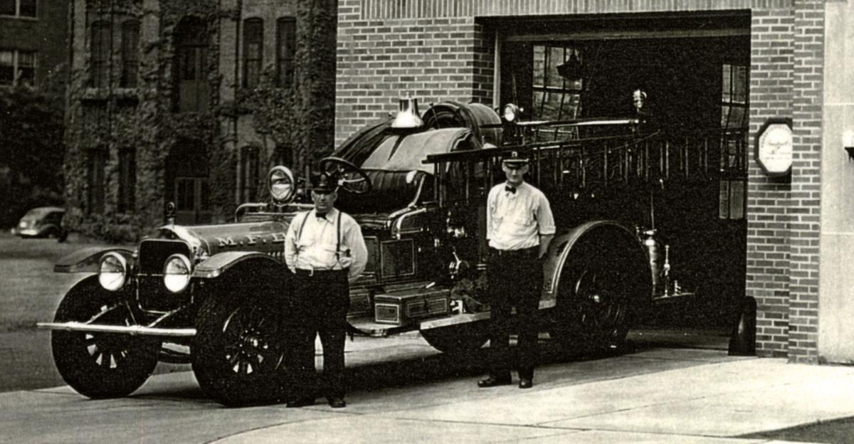 Mansfield Fire Department Twos