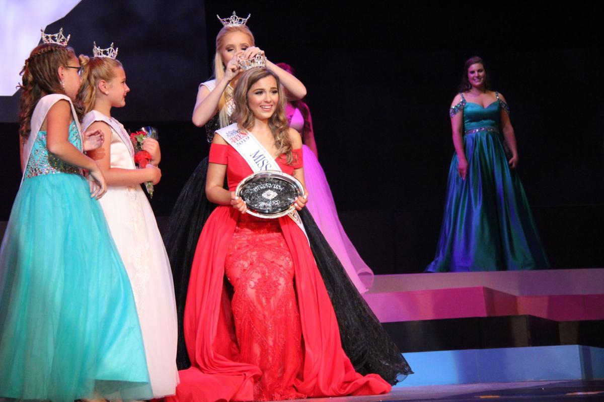 Madison DeFrank crowned