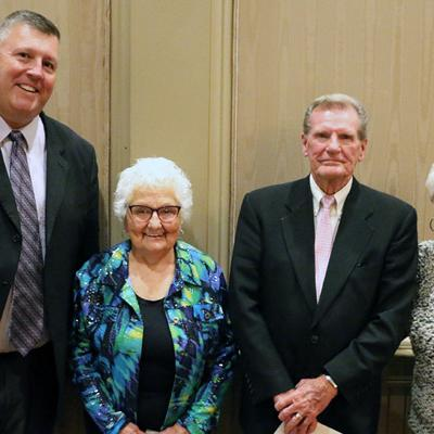 Theaker receives OSBA milestone for 45 years of service